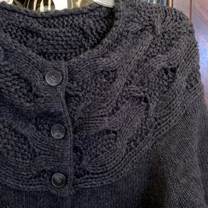 WARM Dark Grey Long Sweater